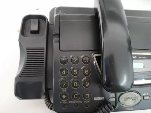 Fone fax panasonic kx-ft71la (usado)