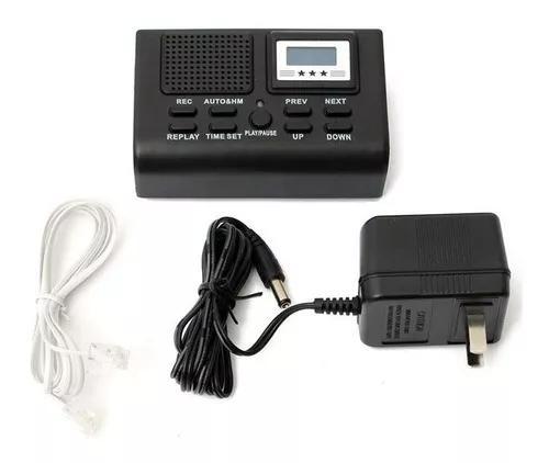 Gravador telefonico digital gravação telefon