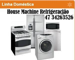 House machine refrigeração - consertos e instalações