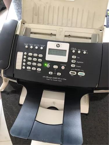 Hp officejet j3600 series all in one fax copy telefone