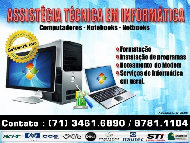 Informática serviços para computadores