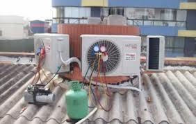 Instalação e limpeza de ar condicionado