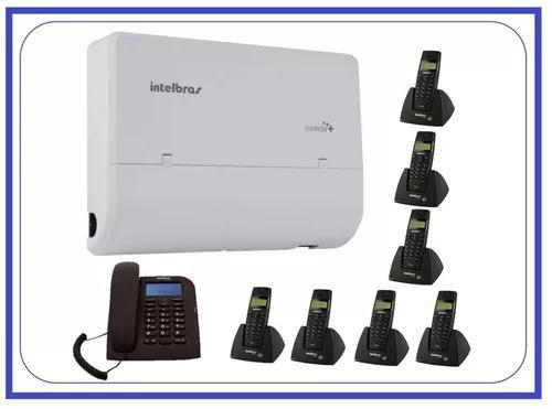 Kit central telefônica com 9 ramais s