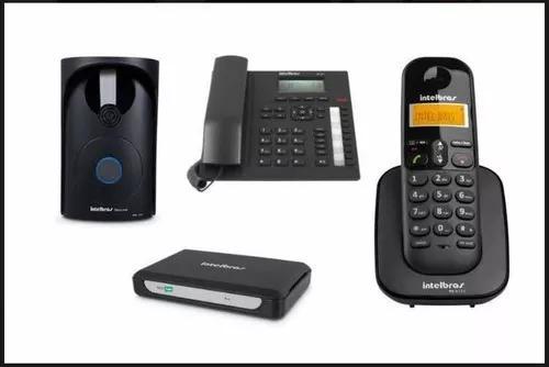 Kit central telefônica minicom plus intelbras