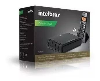 Kit microcentral ip s/fio ts60ip 2.0 intelbras pronta entreg