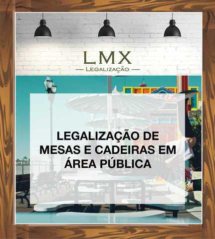 Licença de mesas e cadeiras em área pública