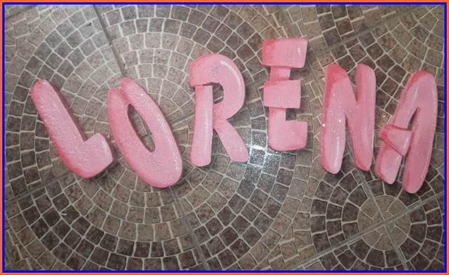 Letras decorativas 30 cm de altura para festas e eventos