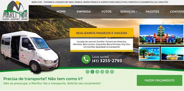 Marlitur.com.br - locação de vans em curitiba, aluguel de