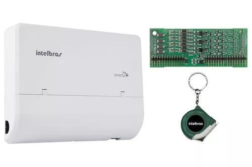 Microcentral pabx 2 linhas 8 ramais conecta mais intelbras