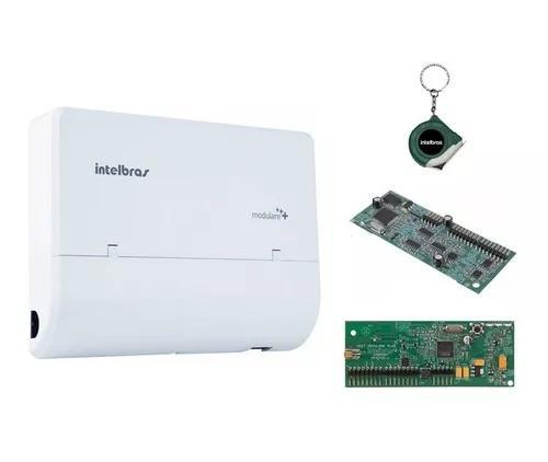 Microcentral telefonia fixa intelbras 2x4 e placa disa dect