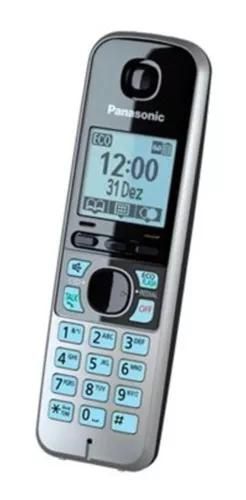 Monofone p/ ramal telefone panasonic kx-tg6711 tg6721 lb 99%
