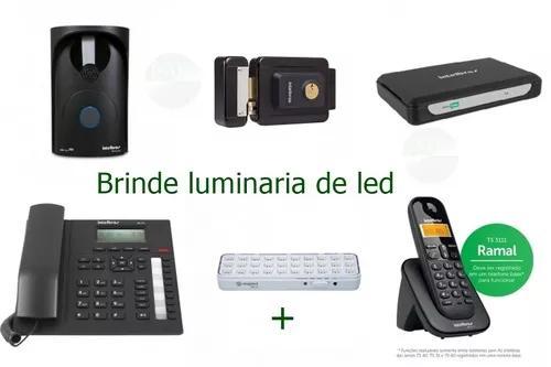 Pabx analogica minicom plus + fechadura intelbras