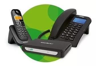 Pabx central telefonica minicom slim intelbras 2 ramais