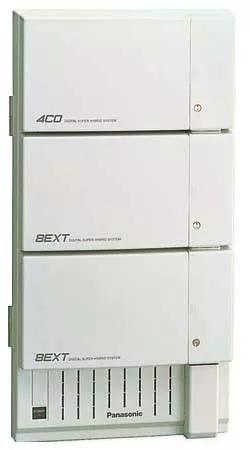 Pabx digital panasonic kx-td1232- c/ 12 linhas e 32 ramais