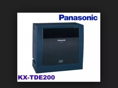Pabx panasonic kx-tde200