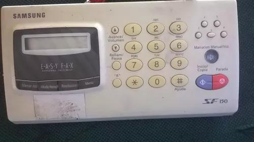 Painel de controle p/ aparelho de fax samsung sf150 completo