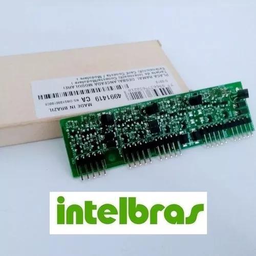 Placa 4 ramal modulare i / conecta intelbras balanceada nova