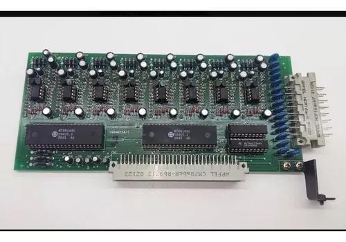 Placa ramal analógico corp 16000 8 ramais - intelbras