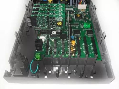 Placa ramal analógico impacta 68 + conectores
