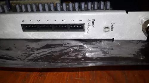 Placa Ramal Analógico Intelbras Impacta 94/140/220/300