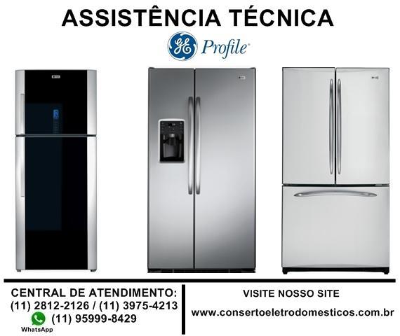 Refrigerador duplex, side by side e french door ge profile,