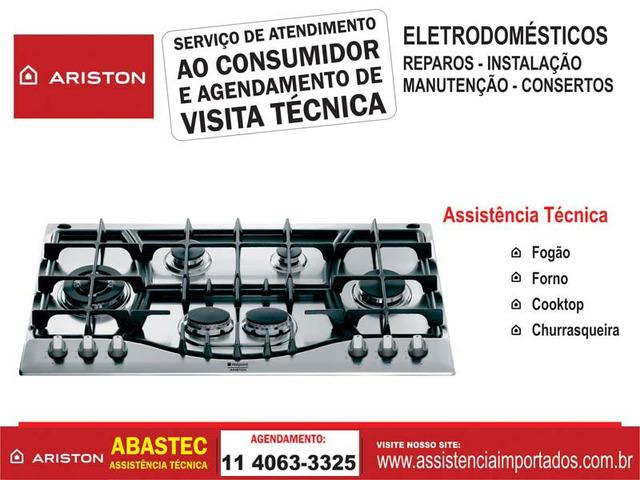 Serviços de assistência técnica ariston