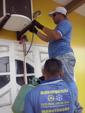 Serviços em centrais de ar: conserto, higienização,