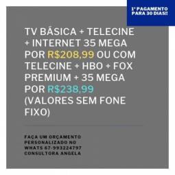 Tv + internet somente o que vc precisa!
