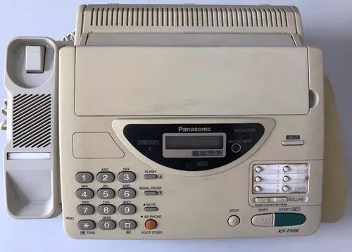 Telefone e fax panasonic kx-f500