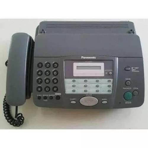 Telefone fax da marca panasonic