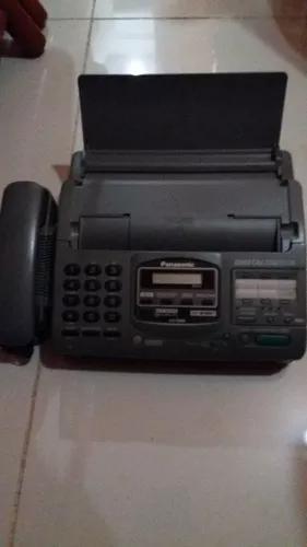 Telefone fax secretária eletrônica panasonic
