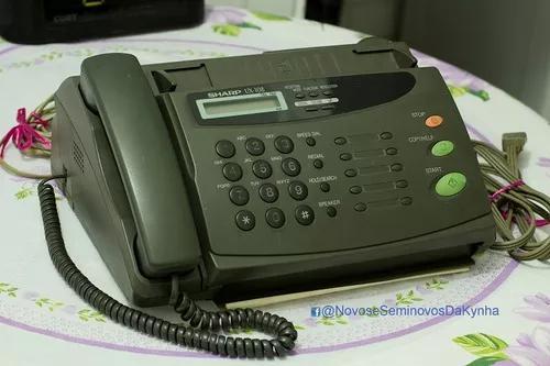 Telefone fax sharp modelo ux 108 - funciona