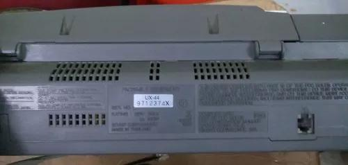 Telefone fax sharp modelo ux-44