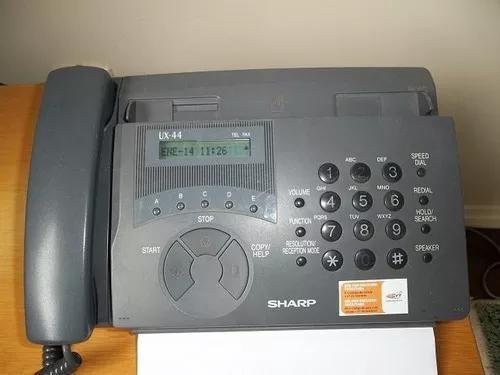 Telefone / fax sharp ux-44