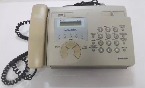 Telefone fax sharp ux-45 s