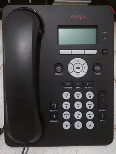 Telefone ip avaya 1601