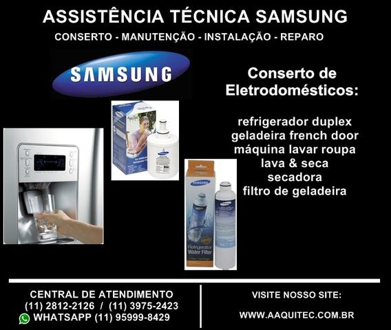 Troca de filtro de água interno ou externo de geladeira