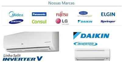 Venda instalação manutenção ar condicionado