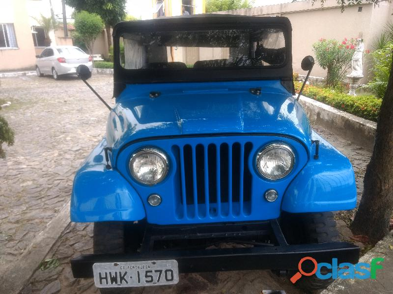 Jeep 1964 6cc restaurado 25mil