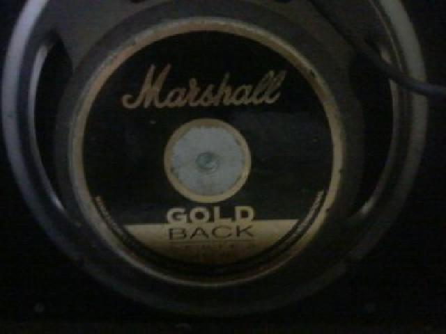 Amplificador inglês marshall