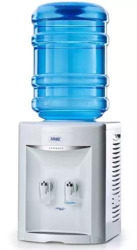 Bebedouro de mesa compact branco ibbl compressor 110v