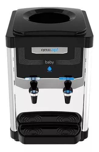 Bebedouro de mesa refrigerado new up baby inox 110v