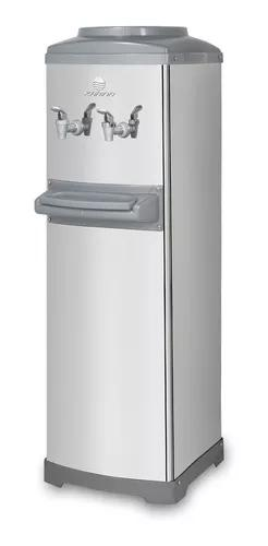 Bebedouro refrigerado por compressor de coluna aço inox
