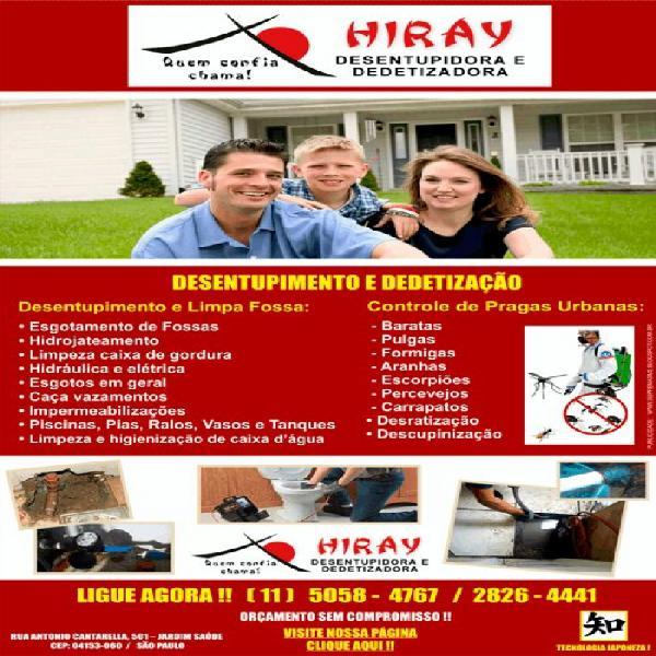 Caça vazamento hiray 5058-47-67 alto da boa vista