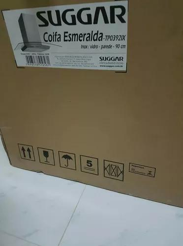 Coifa de parede inox nova - na caixa