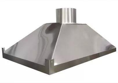 Coifa para cozinha industrial inox