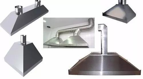 Coifas e dutos industrial (restaurantes e industrias)