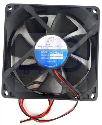 Cooler ventilador 12v 9,2x9,2x2,5 bebedouro e purificador