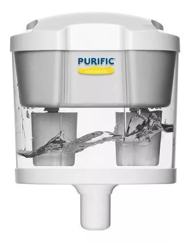 Filtro de água purific ecológico para bebedouro + brinde