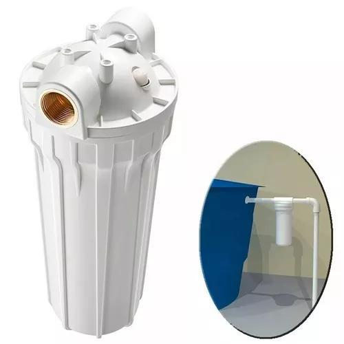 Filtro loren acqua poe 9 3/4 entrada caixa ou cavalete